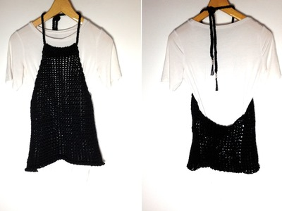 How to Loom Knit a Halter Neck Top (DIY Tutorial)