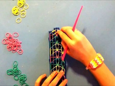 How to make a Chevron Bracelet with Crazy Loom