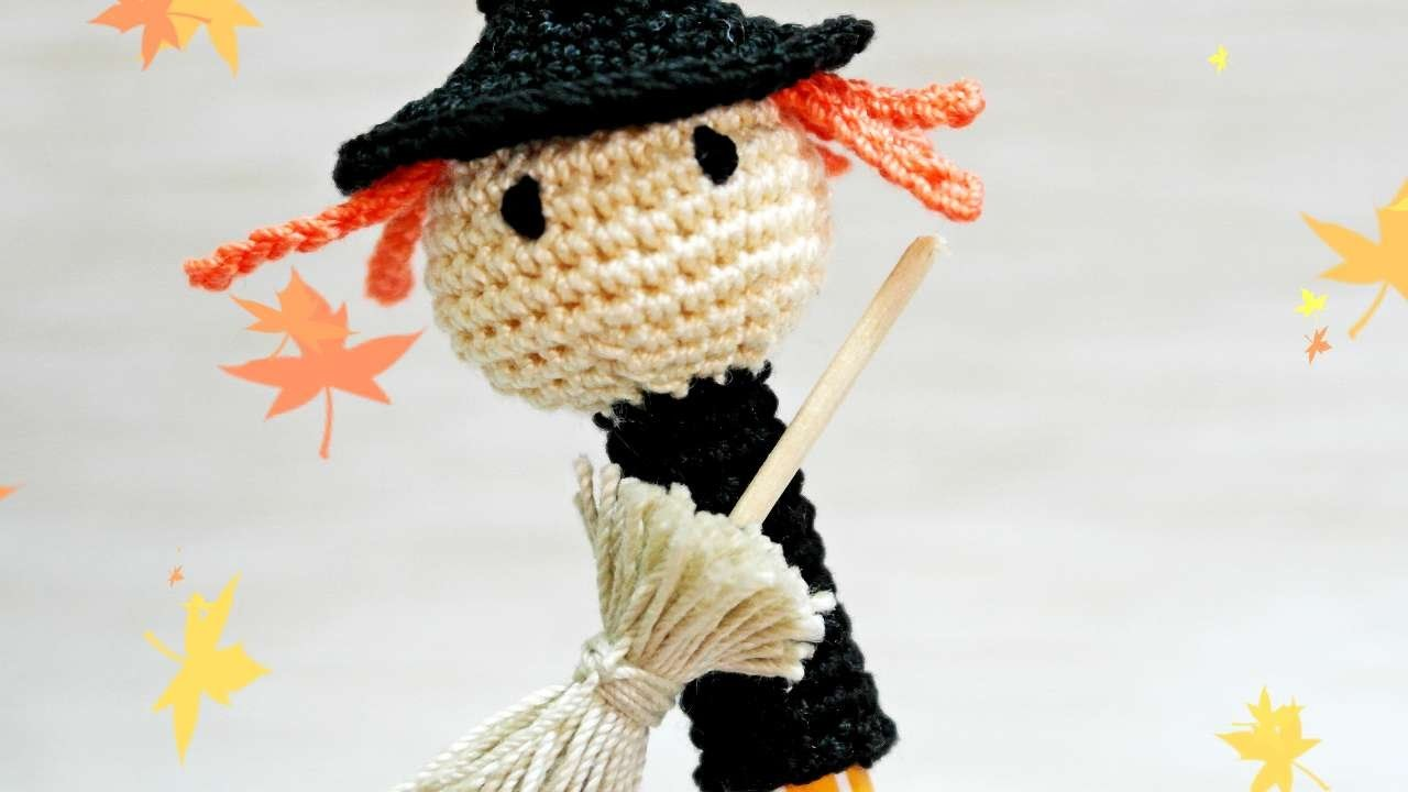 How To Make A Crocheted Halloween Witch Pen Cap - DIY Crafts Tutorial - Guidecentral