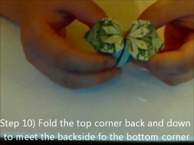 How to Make a Dollar Bill Heart