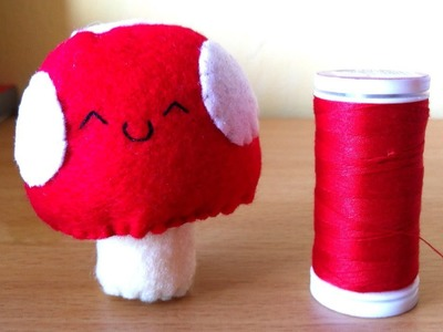 How to Make a Kawaii Mushroom Plushie