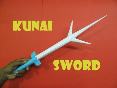 How to Make a Kunai Sword - Easy Tutorials
