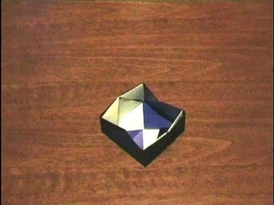 How to make an Origami Box (Multiform - Form 11) . for all (52)