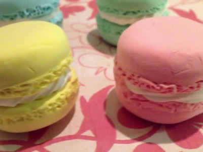 I LOVE FUWA FUWA CLAY. AND MACARONS. A LOT.