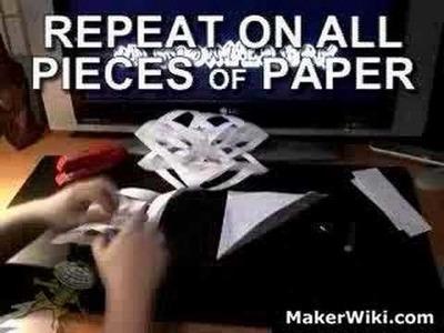 Make A Cool 3D Paper Snowflake