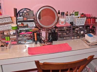 Makeup Collection + Storage! (2013)