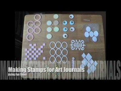 Making Stamps for Art Journals