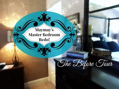 Master Bedroom Decorating Week:  Bedroom Tour and Intro