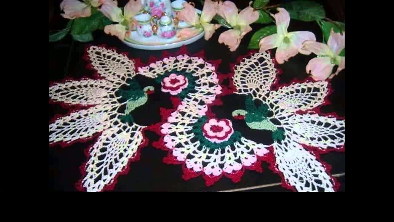 Mini crochet doilies