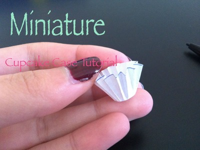 Miniature Cupcake Case