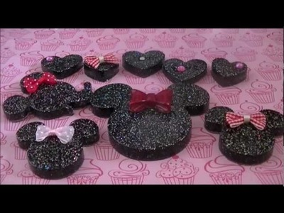 Minnie Mouse resin tutorial