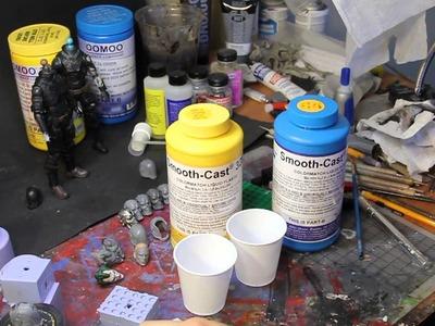 Molding and Casting Tutorial - Custom Head Sculpts