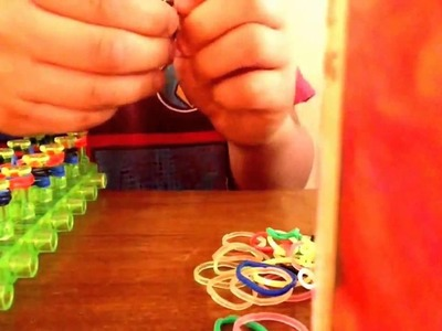 NEW French Braid Rainbow Loom Monster Tail Bracelet Tutorial | How To New