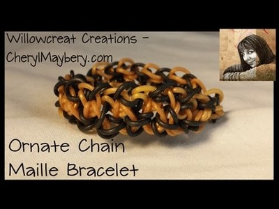 Ornate Chain Maille Bracelet
