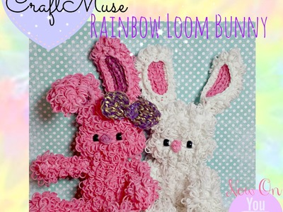 Rainbow Loom Bunny Part 1 of 5