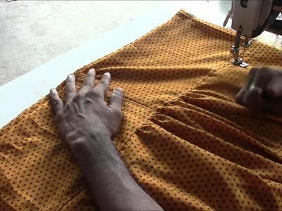 Salwaar Kameez Tutorial Part 4 Salwaar Stitching