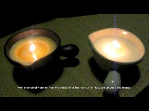 Sneha hot massage candle