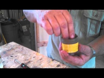 Softening Hardened Minwax Wood Putty