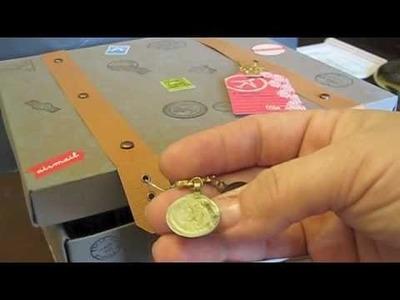 Suitcase mini album storage