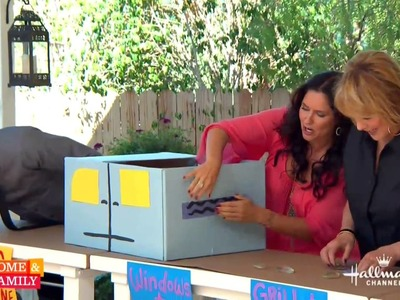 Tanya Memme DIY: Drive-In movie theater at home with cars! Part 1