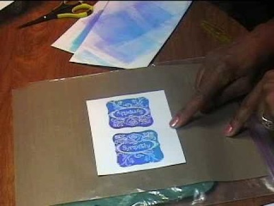 Technique:  Using the Brayer