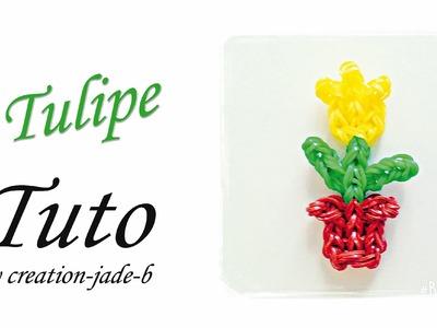 Tuto Rainbow Loom - Tulipe en Pot !
