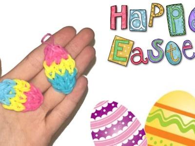 Uovo di pasqua con elastici Rainbowloom easter egg