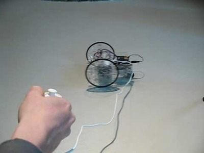 Using an Arduino and Wii Nunchuck to Control a Robot