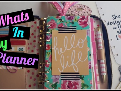 WHATS IN MY PLANNER? MARCH UPDATE!