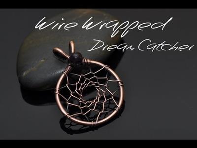 Wire Wrap Tutorial DREAMCATCHER PENDANT