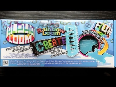 Alpha Loom Unboxing (Rainbow Loom Product)