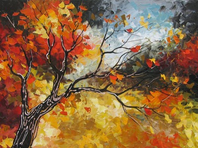 Amazing Landscapes - Autumn Paintings - ART by Lena Karpinsky