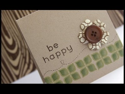 Be Happy - Make a Card Monday #70
