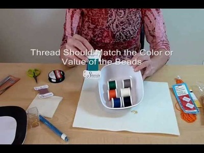 Beading Lesson: Beads and Supplies for Success