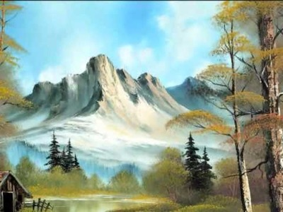Bob Ross - Beautiful Nature painting ♥ ♥ ♥