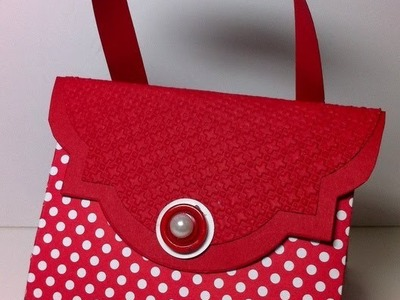 Bright, Beautiful Boxes Exploding Purse.Stampin' Up! Australia.