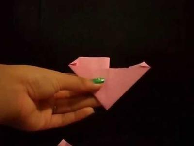 ¿Como hacer triangulos.piezas de origami 3D?