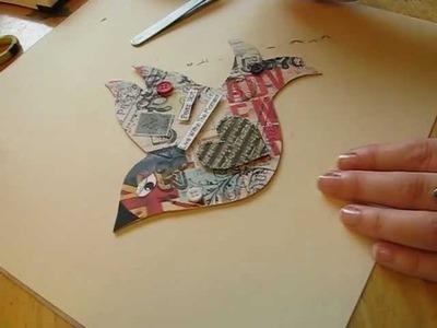 Create A Mixed Media Bird