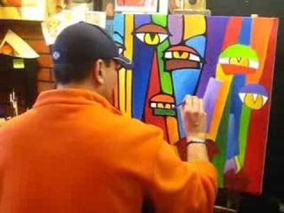 Creating an Original Pop Art Painting - Fidostudio