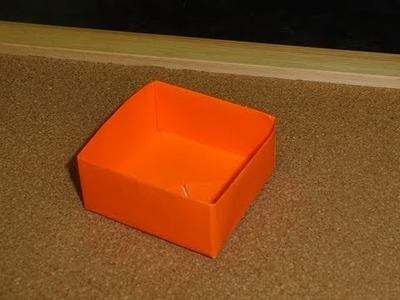 Daily Origami:  075 - Box