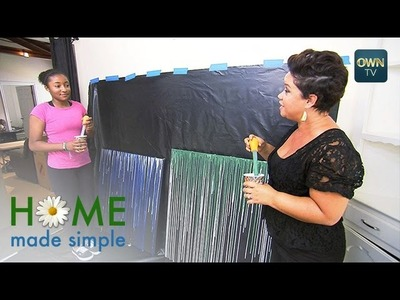 Decorating with Drip Art | Home Made Simple | Oprah Winfrey Network