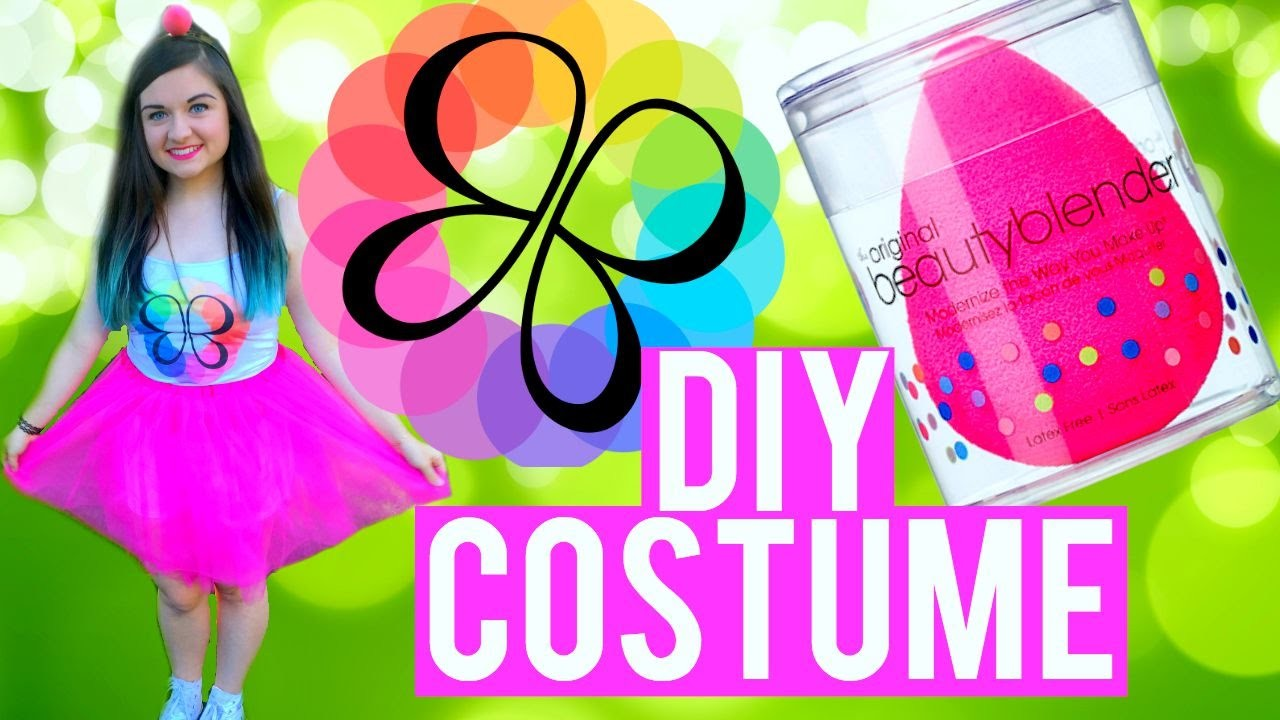 DIY BEAUTY BLENDER HALLOWEEN COSTUME! | Katharine Ward