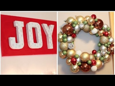 DIY Christmas Room Decor | MakeupByKimm