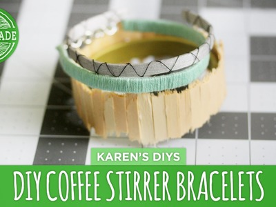 DIY Coffee Stirrer Bracelets - HGTV Handmade