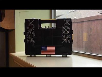DIY Stanley Sortmaster Organizer Bluetooth BoomBox Tutorial Part2
