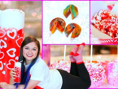 DIY Valentines Day Treat Ideas + GIVEAWAY! | ft. Krazyrayray & Seasonbeauty97