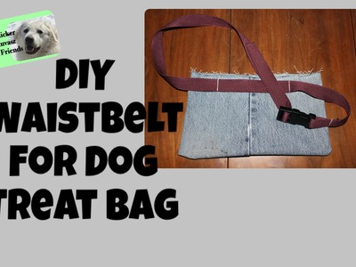 DIY Waist Belt For Dog Training Treat Bag