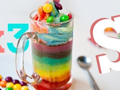 Double Rainbow Cake? - SORTED