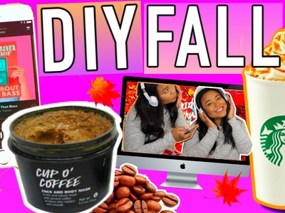 FALL 2015!!! DIY Coffee Scrub + Ways to make it Feel like Fall!