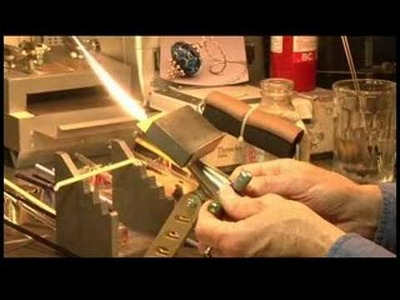 Glass Bead Making: Flamework for Beginners : Glass Bead-Making: Flame Control